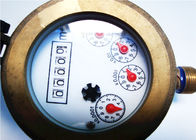 Brass Rotary Volumetric Water Meter Dry Dial For Cold Water LXH-15