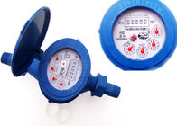 Super Dry Dial Plastic Water Meters Anti Magnetic ISO 4064 Class B