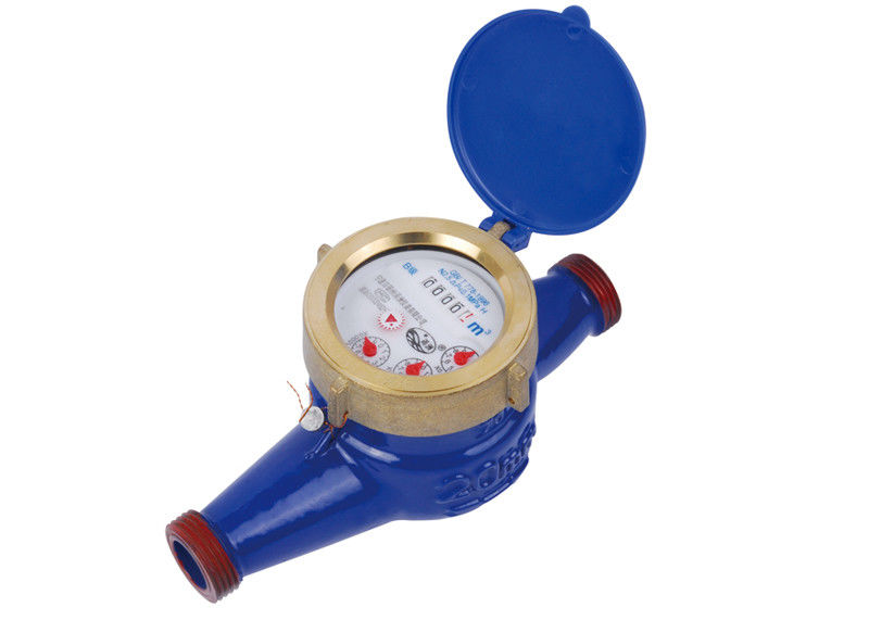Super Dry Cold Multi Jet Water Meter, Iron Water Meter DN15mm - 50mm LXSG-15~50
