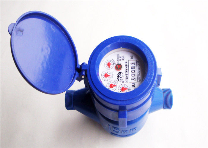 Portable Apartment Water Meter ABS Plastic ISO 4064 Class B, LXS-15EP