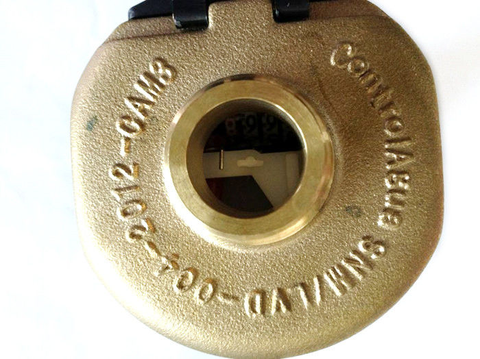Brass Rotary Piston Water Meter Cold ISO 4064 R160 , LXH-15A