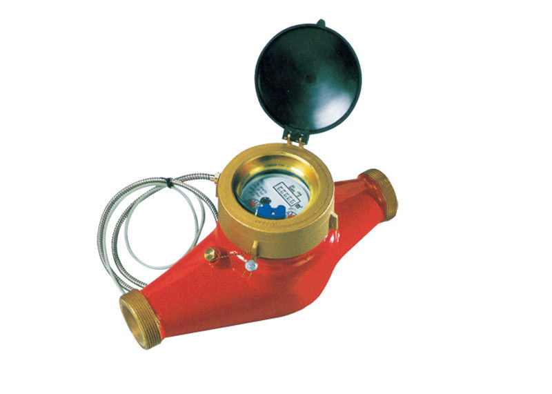 Industrial Multi Jet Water Meter Remote Read Magnetic Brass Class B