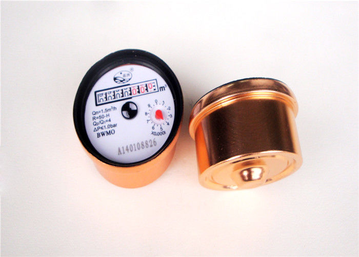 Brass Cold Industrial Water Meters , Rotary Resettable Water Meter, LXSG-15G