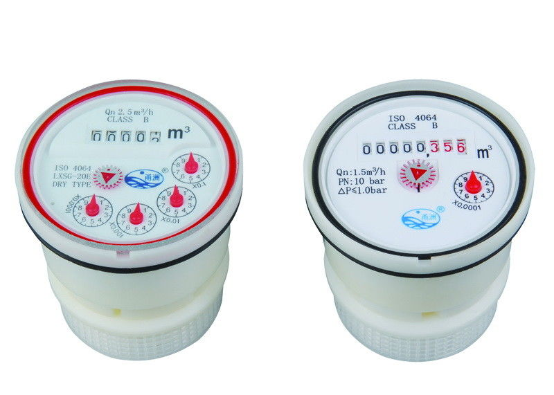 ISO 4064 Class B Water Meter Mechanism For Multi-Jet Cold Water